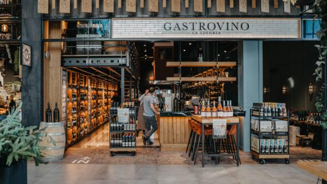Gastrovino La Liguria wijnbar annex wijnwinkel