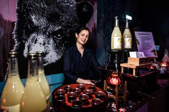 Delja Blom en haar Yuzucello bij de FavorFlav Food Top 100 2018