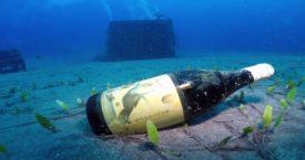 Wijnproeverij onder water