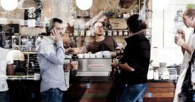 The Village: koffie en muziek