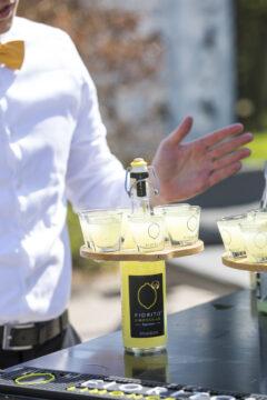 Fiorito Limoncello met glaasjes