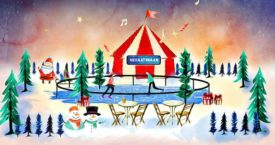 Winterparades voor kerstliefhebbers