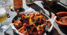 Recept: gingerbeer chickenwings
