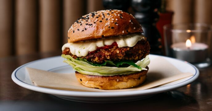 Sergio Herman chickenburger