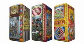 Handbeschilderde koelkasten