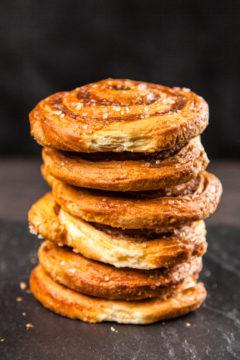 Zweedse kaneel(met kardemom)broodjes