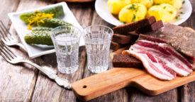 Vodka van foodwaste