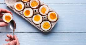 Waar is het gekookte ei gebleven?