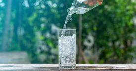 Glaasje rauw water?