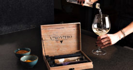 Wijn in een proefbuis