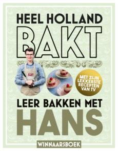 Boekcover Leer bakken met Hans