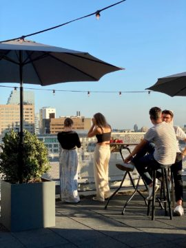 dakterras rooftop restaurant Fontein