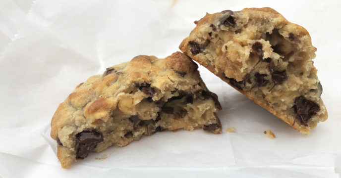 chocolate chip cookie bij levain