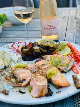 vis bbq torres wijn
