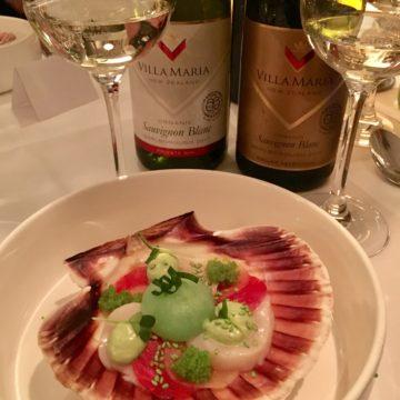 wijn-spijs diner nieuw zeeland