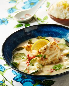 Ikan-lemon-zucchini-en-crispy-rijst