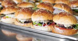 Giorgio Locatelli's hamburgers