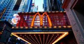 Eten bij McDonalds headquarters
