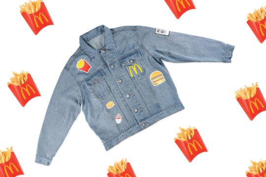 Spijkerjas McDonalds