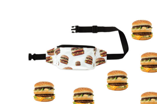 fannypack McDonalds