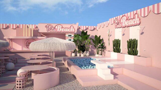 Pink Beach Amsterdam Noord