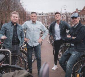 Bram van Es, Jacob Jan Boerma, Benjamin van Roekel en Michel Pais