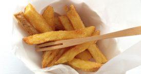 Zonder zout geen friet