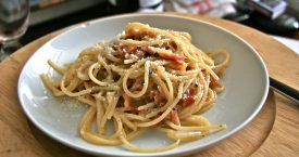 Spaghetti carbonara van Robert Kranenborg