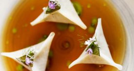 Sensueel botanisch dineren