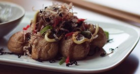 Takoyaki: hartige poffertjes uit Japan