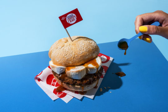 Tony's Chocolonely Chocolate Bar Brown Burger