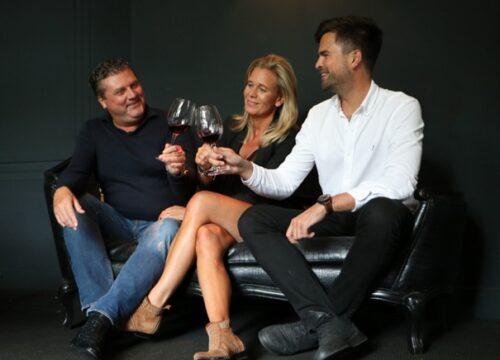 Corinne Hofland, Marcel Just de la Paisières en Frank Laurentius