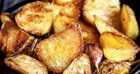 Altijd knapperige aardappels