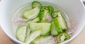 Recept: atjar van komkommer