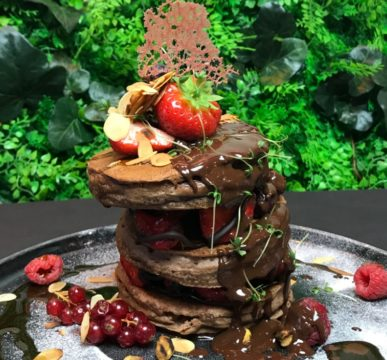 chocolade vegan pancakes