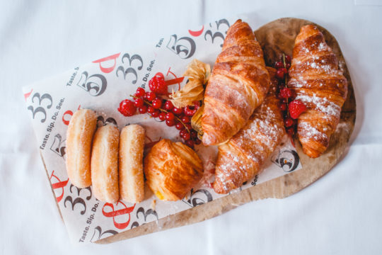 brunch croissants bij 5&33
