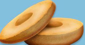 Yes, er komt een emoji van een bagel