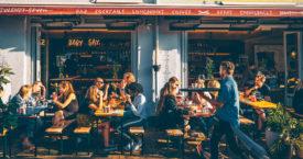 Restaurants met een verwarmd terras