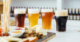 Bier- en kaasproeverij in de Fenix Food Factory