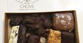 Chove: knapperige, smeuïge chocola