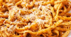 7x comfort food pasta's
