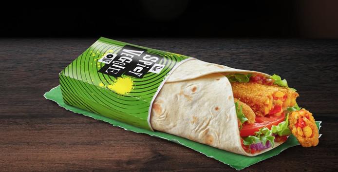 vega wrap mcdonald's