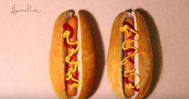 Realistische food art