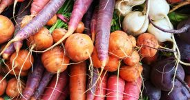 Een kantoor vol groenten