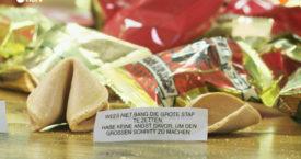 Wie schrijft fortune cookie-spreuken?