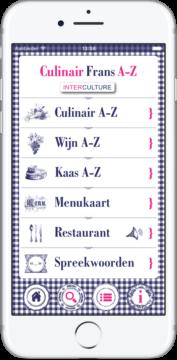 Culinair Frans A-Z app