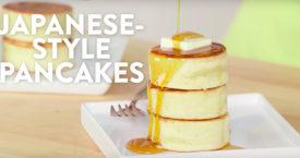 Maken: fluffy Japanse pancakes