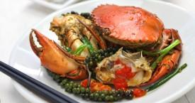 Krab met Kampot peper
