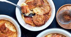 Broodpudding met kaneel