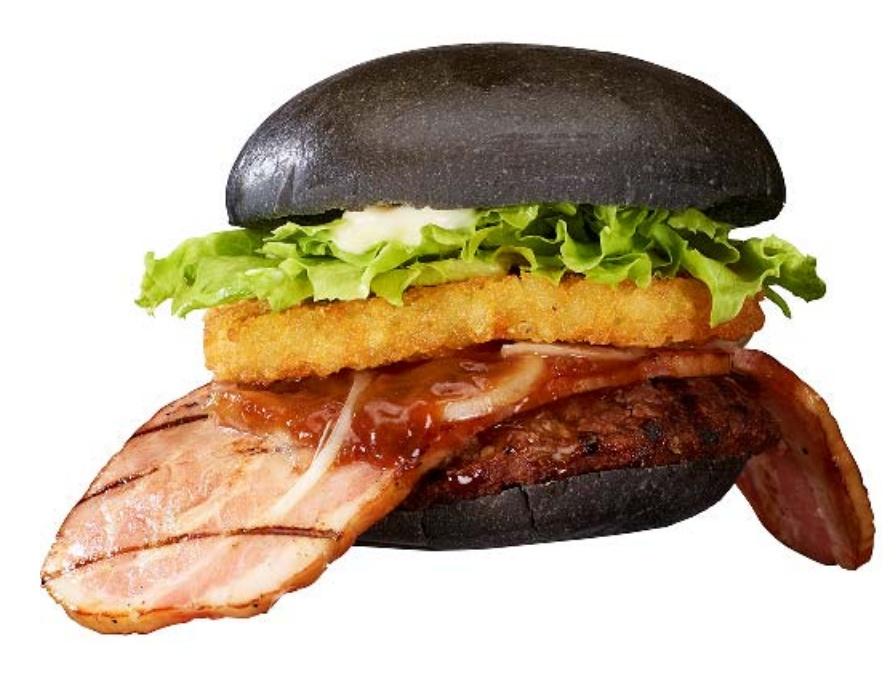 zwarte hamburger